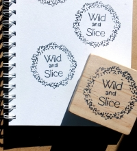 wild and slice stamp