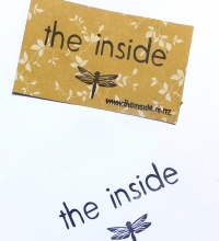 the inside dragonfly stamp