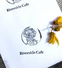 riverside cafe stamp